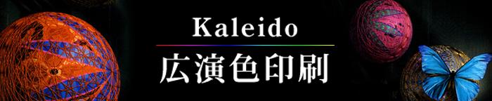 広演色印刷 kaleido